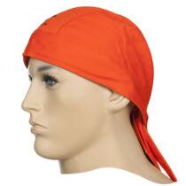 Weldas Fire Fox™ pamut hegesztőfejkendő égésálló kivitelben, narancssárga színben