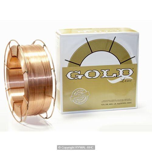 Hegesztőhuzal GOLD Co SG2 0,8mm (1kg/tek) D100