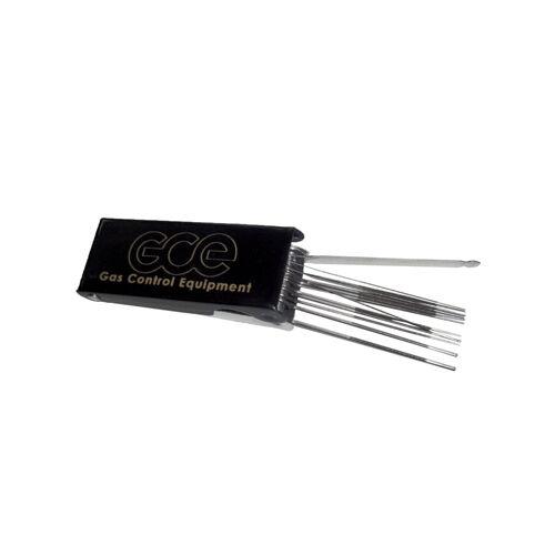 Égőszár Tisztító Tű készlet  RK20, VARGA, X11 ø 0,5-1,6mm