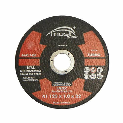 Vágókorong MOST TURBO INOX 41 150x1,6x22 A60TBF